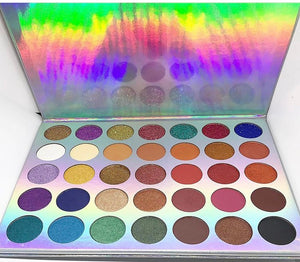 Sasheen MUA 35 Color Eyeshadow Palette