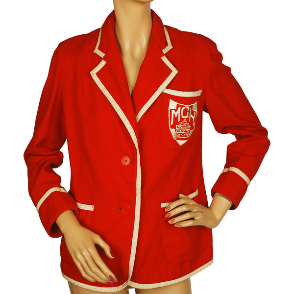 Vintage 1940s Montreal General Hospital Nursing School Blazer McGill University - Poppy's Vintage Clothing