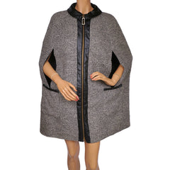 Vintage-1960s-Saks-Fifth-Avenue-Mod-Tweed-Wool-Cape