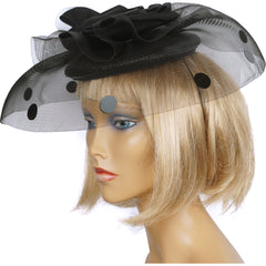 1980s-Black-Cocktail-Hat-w-Horsehair-Brim