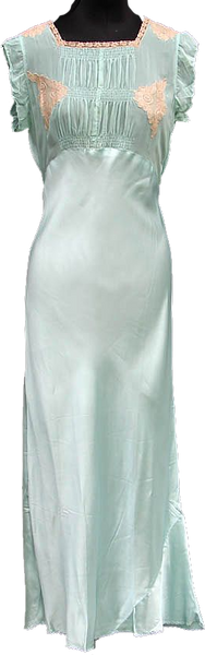 1930s Satin Nightgown