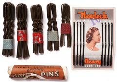 1930s and 1940s Hair Pins and Bobby Pins