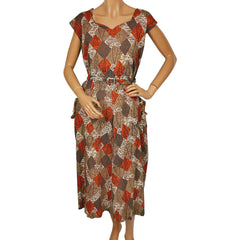 50s-Abstract-Novelty-Print-Dress