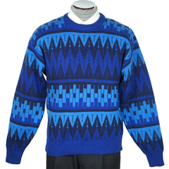 Vintage 70s Mens Pure Wool Ski Sweater