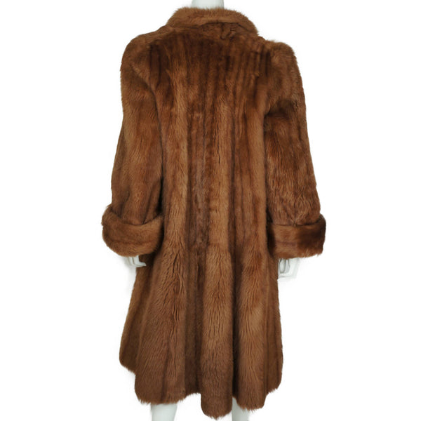 Tescan-Fur-Skins-Sheepskin-Imitation-Mink-Coat-by-Admoir-Back-View