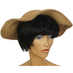 1950s-Straw-Hat-Ladies-Size-Medium