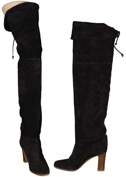 1970s Thigh High Boots