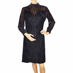 Vintage-1960s-Mod-Bianchini-Ferier-Devore-Velvet-Dress