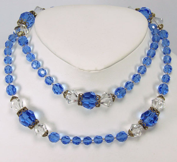 Vintage 50s Crystal Necklace