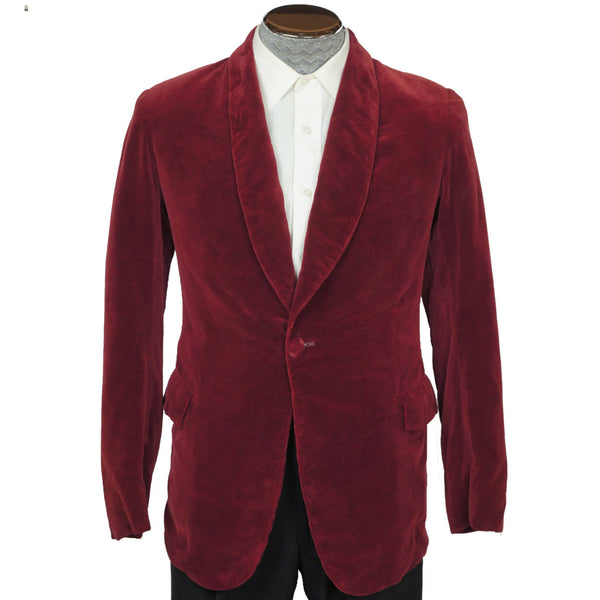 Vintage-1940s-Bonnington-Velvet-Smoking-Jacket