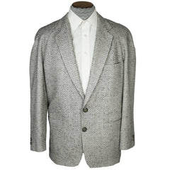 Vintage 80s Borsalino Jacket Wool and Silk