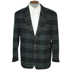 Vintage 80s Hugo Boss Scottish Wool Jacket