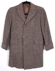 1950s Boys Tweed Coat