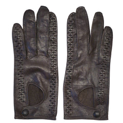 Vintage-1950s-Brown-Gloves