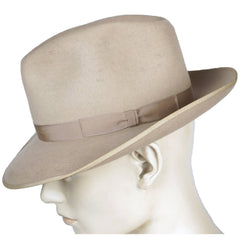 Vintage 50s Mens Fedora Hat Buckley Commando Montreal 7 1/8 - Poppy's Vintage Clothing