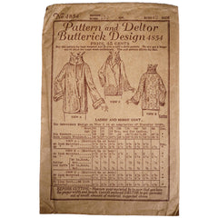 Butterick-Pattern-4854-1920s-Ladies-Coat