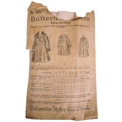 Antique-Butterick-Pattern-9034-Girls-Empire-Coat