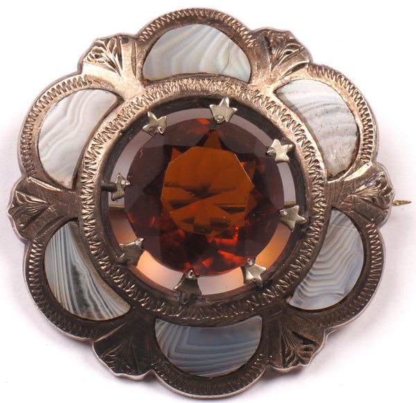Victorian Scottish Brooch