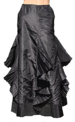 Chanel Silk Taffeta Skirt