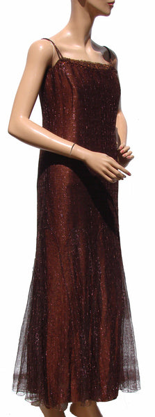 1999 Chanel Evening Gown Side View