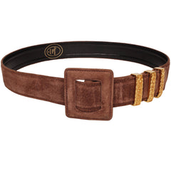 Christian-Dior-Suede-Ladies-Belt