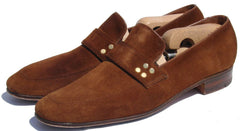 Church's Mens Brown Suede Loafer Shoes