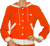 Courreges Hyperbole Orange Hoodie 1970s