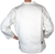 70s Courreges White Jacket Back View
