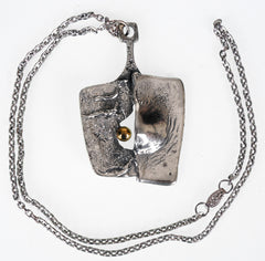Gilles Guy Vidal Modernist Pendant Necklace