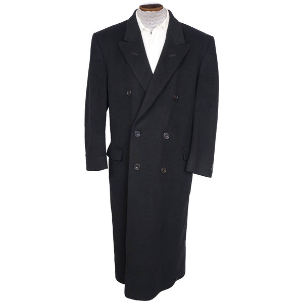 Vintage-English-Pure-Cashmere-Men-Overcoat