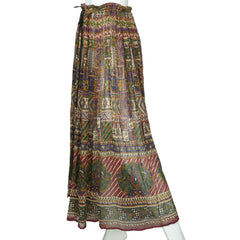 Vintage-1970s-Indian-Gauze-Cotton-Skirt