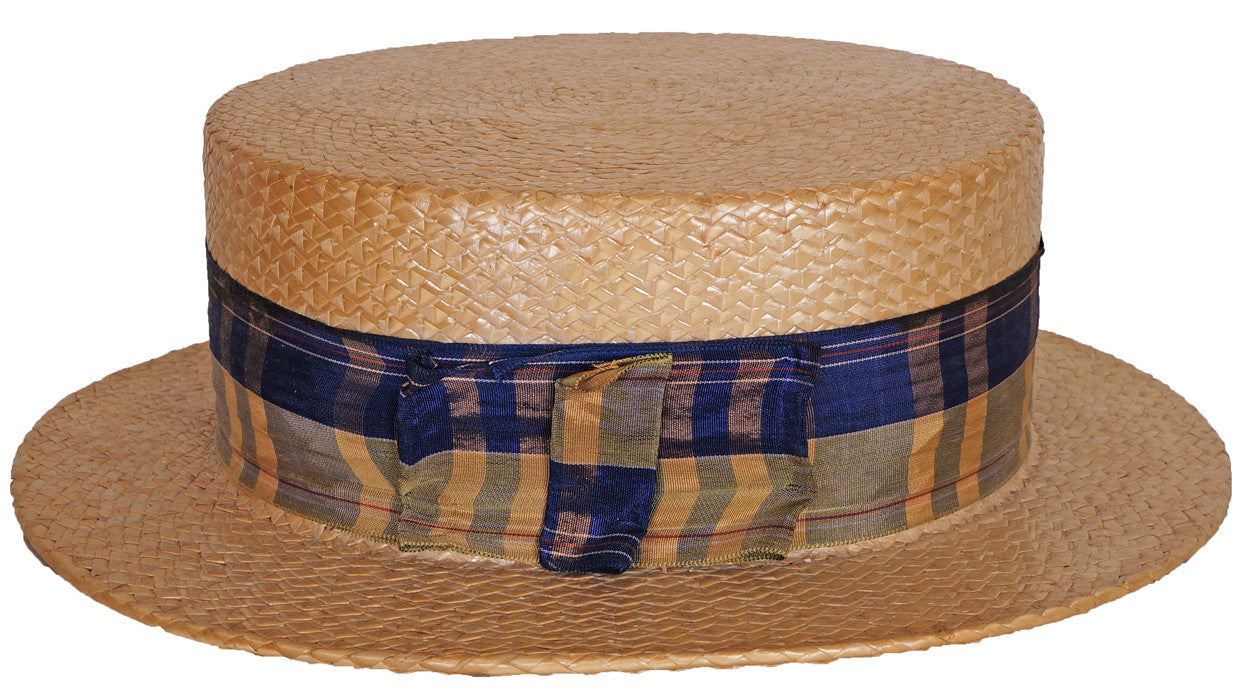 Straw Boater Made in Japan 1920s 432624c1357