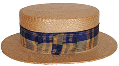 Straw Boater Made in Japan 1920s
