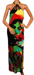 Jean-Paul Gaultier Printed Jersey Dress