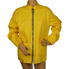 Vintage 1960s Sailing Windbreaker Jacket Yellow Cotton by Joe Maisel Miami Beach - Poppy's Vintage Clothing
