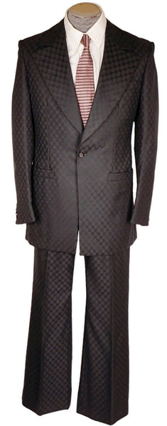 Vintage-70s-Custom-Tailored-Mens-Black-Suit