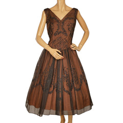1950s-Jonathan-Logan-Crinoline-Dress