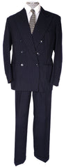 Vintage 1955 Jones Chalk Dawson Bespoke Mens Suit