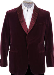 Jones Chalk & Dawson Bespoke Smoking Jacket