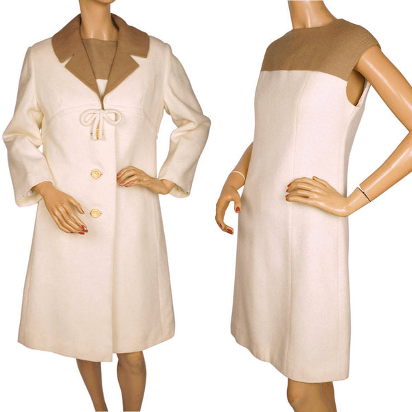 Vintage-1960s-Wool-Dress-Coat-Set