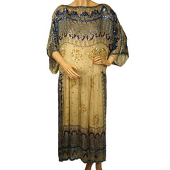Judith-Ann-Creations-1970s-Silk-Indian-Dress