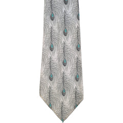 Keynote-Peacock-Pattern-Woven-Silk-Tie