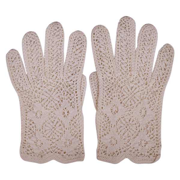 Vintage-Crochet-Lace-Gloves