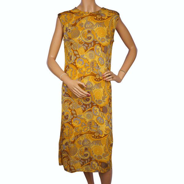 Vintage-1960s-Luisa-Spagnoli-Silk-Knit-Dress