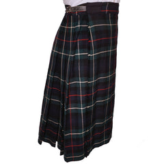 Vintage-MacDonald-of-the-Isles-Scottish-Kilt-Side-View