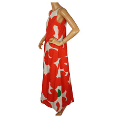 Vintage-Marimekko-Finland-Keidas-Maxi-Dress-Side-View