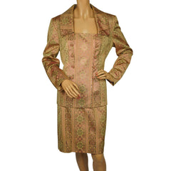 Mary McFadden suit