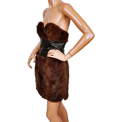 Vintage-Mink-Fur-Dress-Side-View