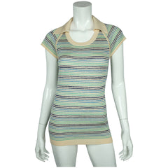 Vintage-1970s-Miss-Dior-Striped-Top