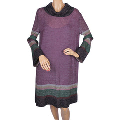 Missoni Knit Lurex Dress Ladies Size 12 Large M Line - Poppy's Vintage Clothing